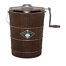 image of White Mountain® Appalachian Series 6-Quart Hand Cranked Ice Cream Maker