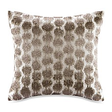 image of Echo™ Odyssey Square Throw Pillow in Brown/Ivory