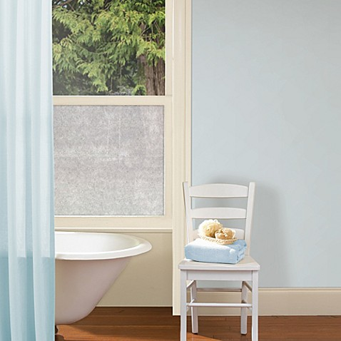 Rice Paper Privacy Film In Grey Bed Bath Amp Beyond