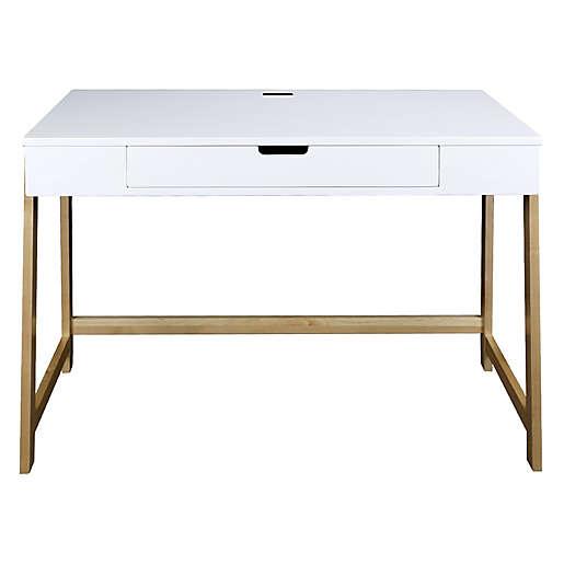 American Trails Neorustic Desk With 4, American Trails Art Deco Writing Desk Maple White Finish