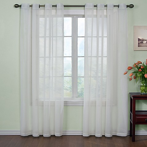 Curtains Ideas bed bath & beyond curtains and drapes : Arm and Hammer™ Curtain Fresh™ Odor Neutralizing Sheer Curtain ...