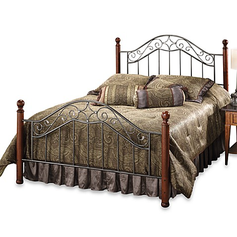 Hillsdale Martino King Bed with Rails