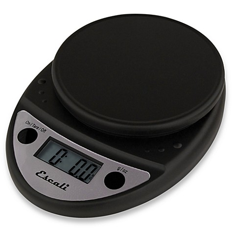 Buy Escali® Primo 11 lb. Digital Food Scale in Black from ...
