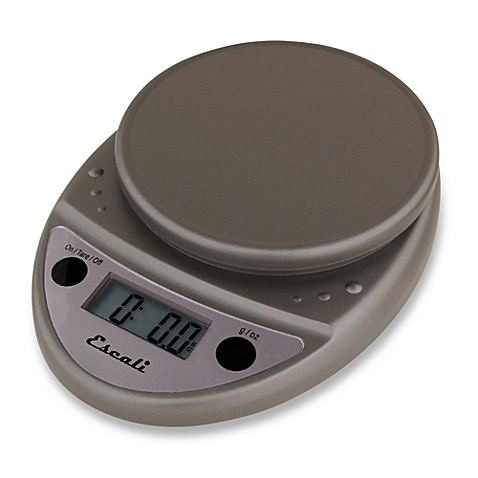 Escali® Primo 11 lb. Digital Food Scale in Metallic