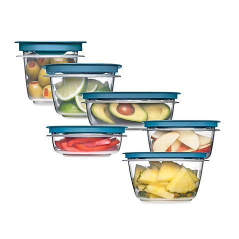 Rubbermaid® Flex & Seal™ Food Storage Containers with Easy Find ...