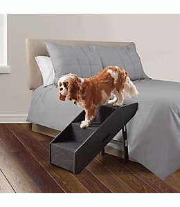 Rampa/escalera de MDF Pawslife™ Deluxe convertible para mascotas color negro