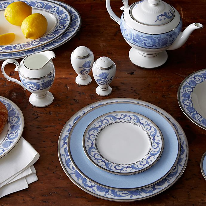 Noritake Sonnet In Blue Dinnerware Collection Bed Bath Beyond