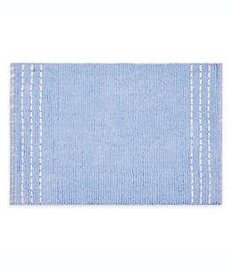 Tapete para baño de algodón Bee & Willow™ Worthington Home color azul