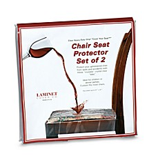 Image Of Clear Chair Seat Protectors Set 2