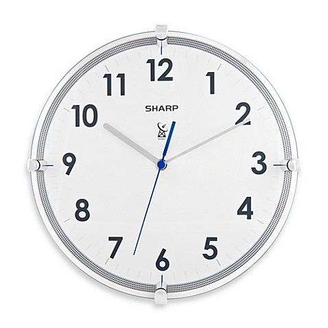Sharp 11 Inch Atomic Wall Clock Bedbathandbeyond Com