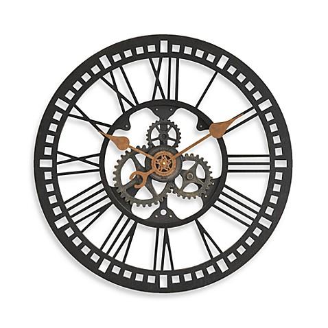 Firstime 174 Roman Gear Clock Bedbathandbeyond Ca