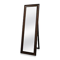 image of Golden Bronze 20-Inch x 60-Inch Floor Mirror with Easel
