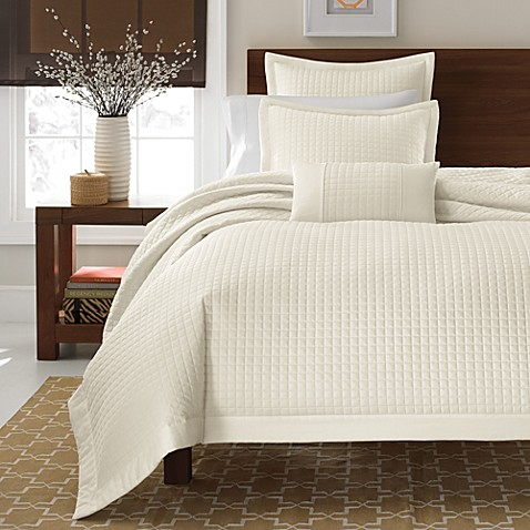 Buy Real Simple 174 Retreat Duvet Cover In Ivory From Bed