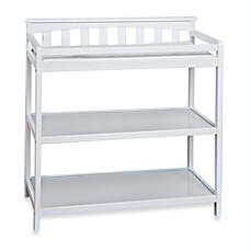 Marvelous Image Of Child Craft™ London Euro Flat Top Changing Table In Matte White
