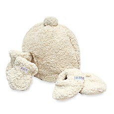 image of JJ Cole® Bundleme Hat, Mitten & Booties Set