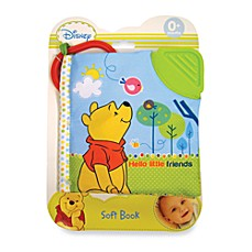 image of Disney Baby® Hello Little Friends Red Shirt Pooh Soft Book