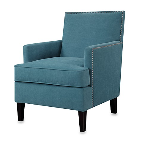 Madison park colton track arm club chair bed bath beyond for Small stuffed chairs