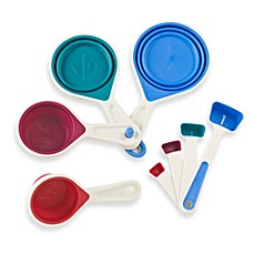 image of Chef'n® sleekstor™ 8-Piece Collapsible Measuring Cups and Spoons Set