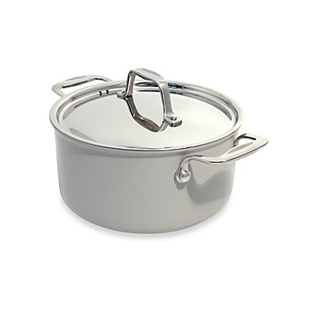 buy beka chef eco logic 100 ceramic 9 5 inch nonstick covered casserole in cream from bed bath. Black Bedroom Furniture Sets. Home Design Ideas
