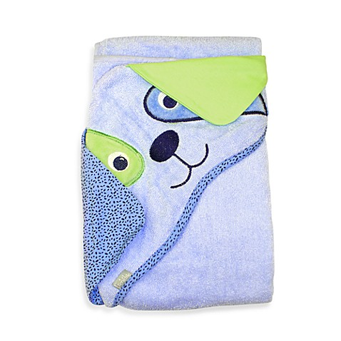 Frenchie Mini Couture Extra-Large Dog Face Hooded Towel