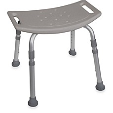 Image Of Drive Medical Bathroom Safety Shower Chair In Grey