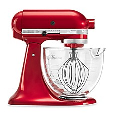 Image Of KitchenAid® 5 Qt. Artisan® Design Series Stand Mixer With Glass  Bowl