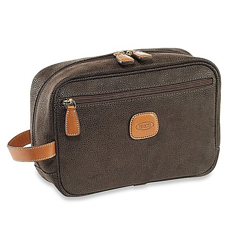buy bric 39 s men 39 s grooming bag in olive from bed bath beyond. Black Bedroom Furniture Sets. Home Design Ideas