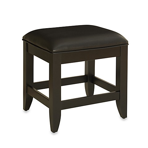 Home Styles Bedford Vanity Bench In Black Bed Bath Amp Beyond
