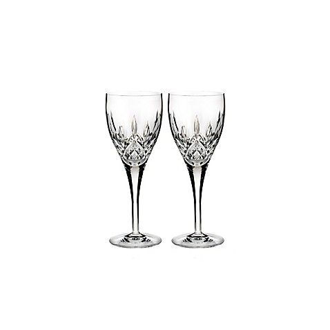 Waterford lismore nouveau wine glasses set of 2 bed bath beyond - Waterford colored wine glasses ...