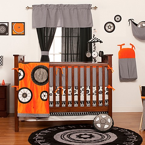 One Grace Place Teyo S Tires Crib Bedding Collection