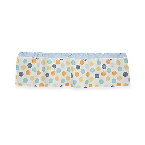Lolli Living™ by Living Textiles Baby Window Valance in Bot Dot