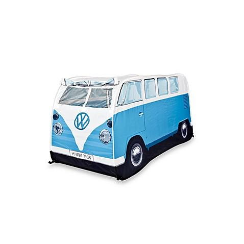 VW C&ervan Childrenu0026#39;s Pop-Up Play Tent ...  sc 1 st  Bed Bath u0026 Beyond & VW Campervan Childrenu0027s Pop-Up Play Tent in Blue - Bed Bath u0026 Beyond