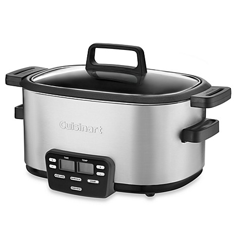 cuisinart slow cooker cuisinart 174 cook central 6 qt cooker bed bath amp beyond 10785