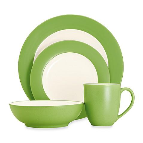 Noritake® Colorwave Rim Dinnerware Collection in Apple - Bed Bath ...
