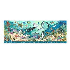 image of Melissa & Doug® Search & Find Under the Sea 48-Piece Floor Puzzle