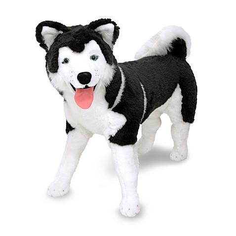 melissa doug husky dog giant stuffed animal bed bath beyond. Black Bedroom Furniture Sets. Home Design Ideas