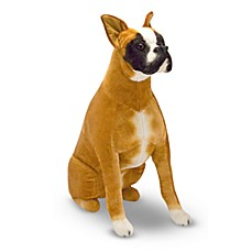image of Melissa & Doug® Boxer Stuffed Animal