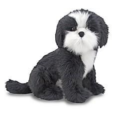 image of melissa u0026 doug shih tzu dog giant stuffed animal