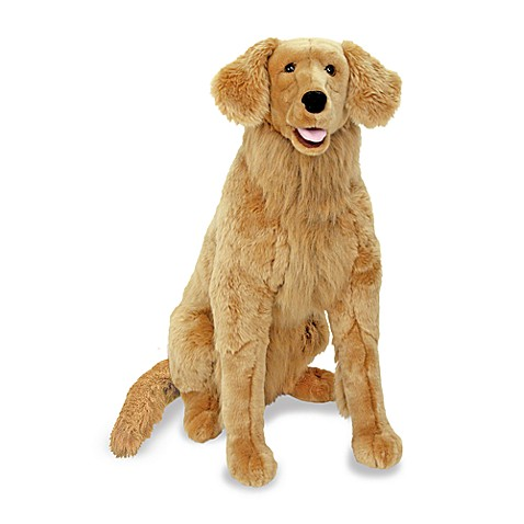 Melissa & Doug® Golden Retriever Dog Giant Stuffed Animal