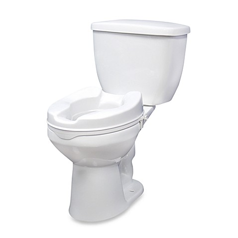 buy drive medical 4 inch raised toilet seat from bed bath