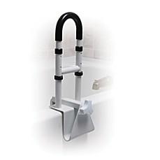 handicap toilet rails. image of drive medical height-adjustable bathtub safety rail handicap toilet rails