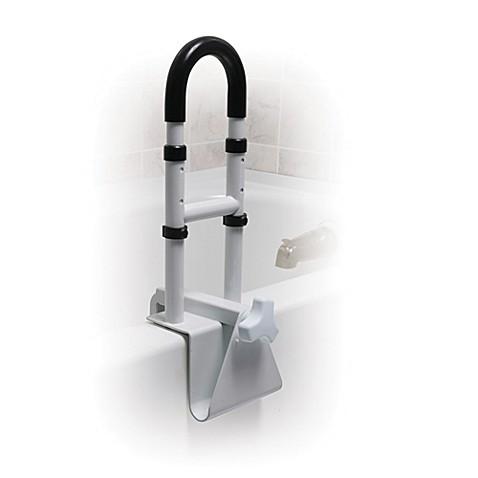 drive medical height adjustable bathtub safety rail bed