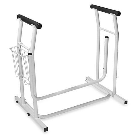 Drive Medical Stand Alone Toilet Safety Rail Bed Bath