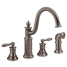 image of Moen Waterhill Oil Rubbed Bronze Faucet
