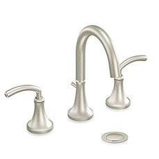 image of Moen® Icon 2-Handled 9-Inch Faucet in Brushed Nickel