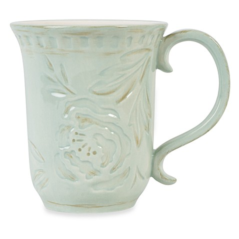 Fitz and Floyd® Toulouse 18-Ounce Mug in Green
