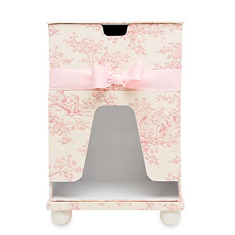 Glenna Jean Isabella Diaper Caddy and Wipes Holder