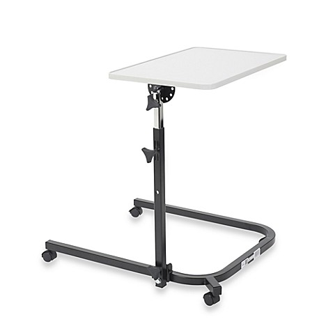 Drive Medical Overbed Table in Grey