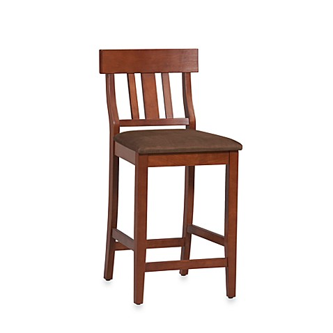 Buy 30 Inch Slat Back Barstool From Bed Bath Amp Beyond