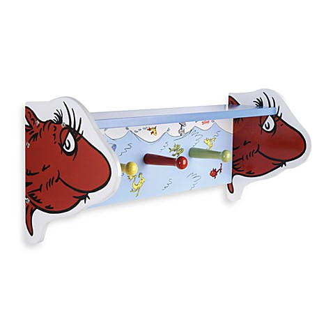 Room Decor Dr Seuss By Trend Lab One Fish Two Fish Shelf With Peg Hoo